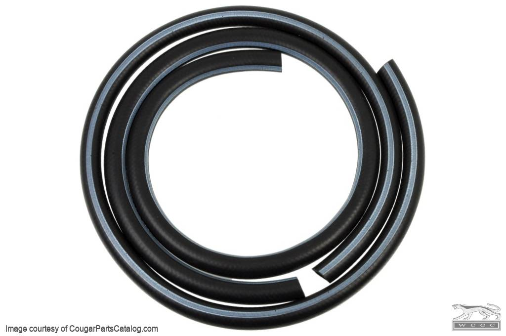 Heater Hoses - Without A/C - Concours Correct - Repro ~ 1967 - 1968 Mercury Cougar / 1967 - 1968 Ford Mustang - 11364