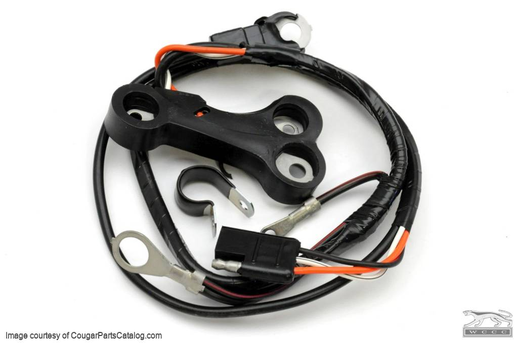 alternator wiring harness concours 390 xr7 repro 1967 alternator wiring harness - concours - 390-4v - 427 ... 92 wrangler alternator wiring harness #9