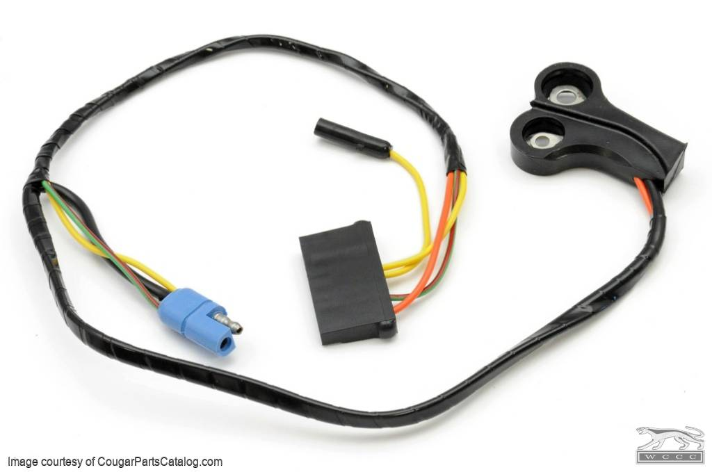 Alternator Wiring Harness - XR7 / Eliminator - w/ Ammeter - CONCOURS  CORRECT for 1970 Mercury Cougar, 1970 Ford Mustang at West Coast Classic  Cougar :: The Definitive 1967 - 1973 Mercury Cougar Parts Source