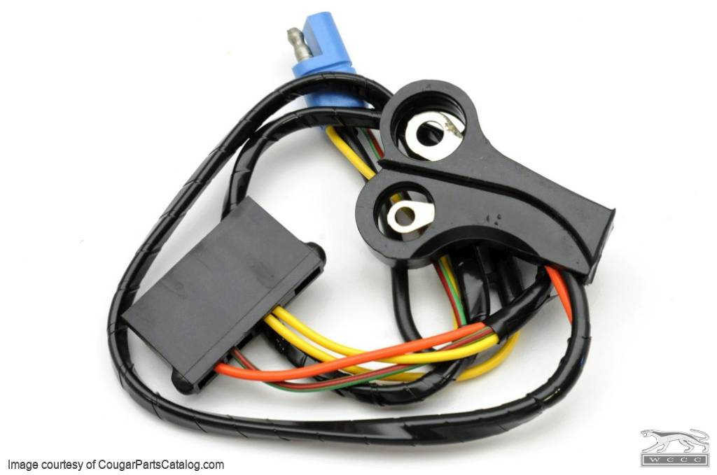 Alternator Wiring Harness - XR7 / Eliminator - w/ Ammeter - CONCOURS CORRECT - Repro ~ 1970 Mercury Cougar / 1970 Ford Mustang - 11640