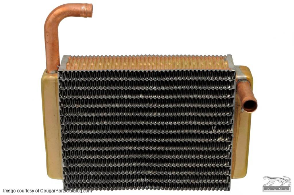 Heater Core - w/o A/C - Repro ~ 1969 - 1970 Mercury Cougar - 1969 - 1970 Ford Mustang - 25992