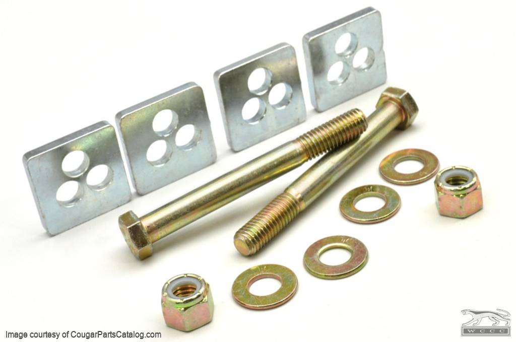 Adjusting Cam Eliminator Kit - Lower Control Arm - New ~ 1967 - 1973 Mercury Cougar / 1967 - 1973 Ford Mustang - 10487
