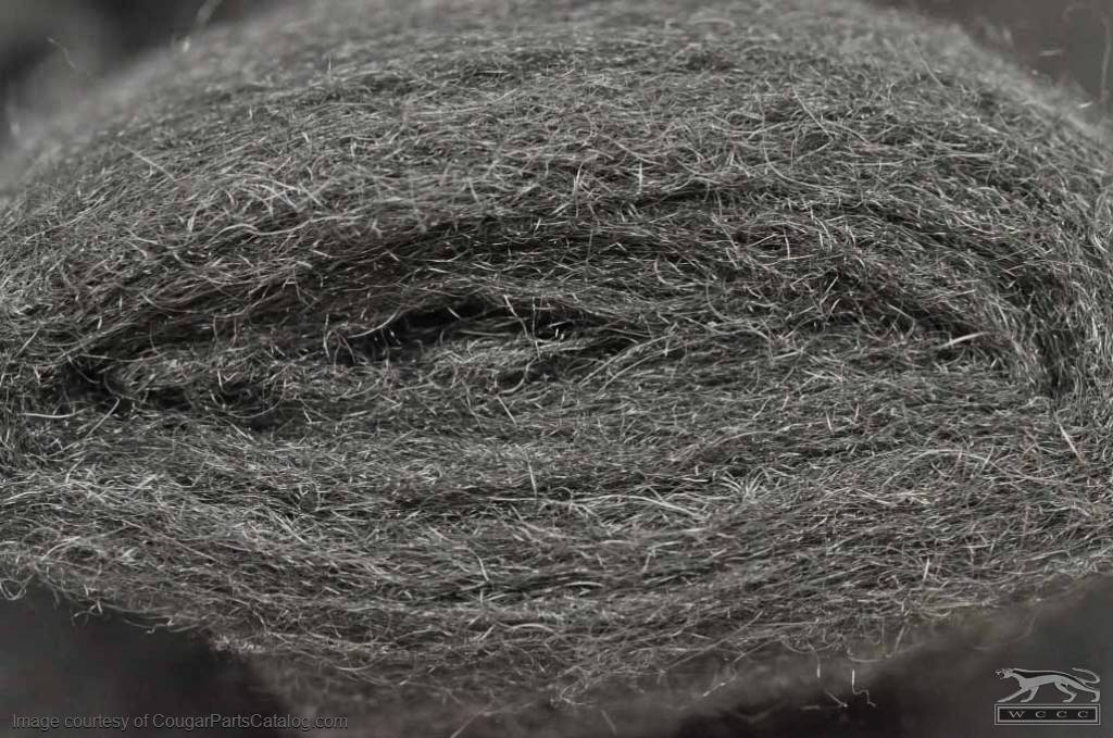 Steel Wool - Extra Fine - Polishing Grade 0000 - New ~ 1967 - 1973 Mercury Cougar / 1967 - 1973 Ford Mustang - 14-0017