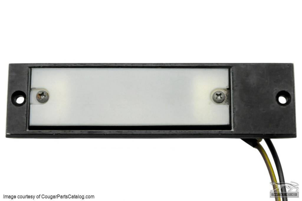 Map Light Assembly - XR7 - Used ~ 1969 - 1970 Mercury Cougar - 10839