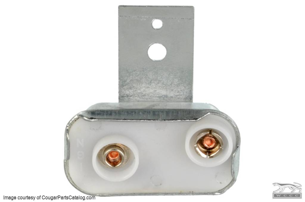 Voltage Regulator - Instrument Panel - Solid State - Repro ~ 1969 - 1973 Mercury Cougar / 1969 - 1973 Ford Mustang - 10860