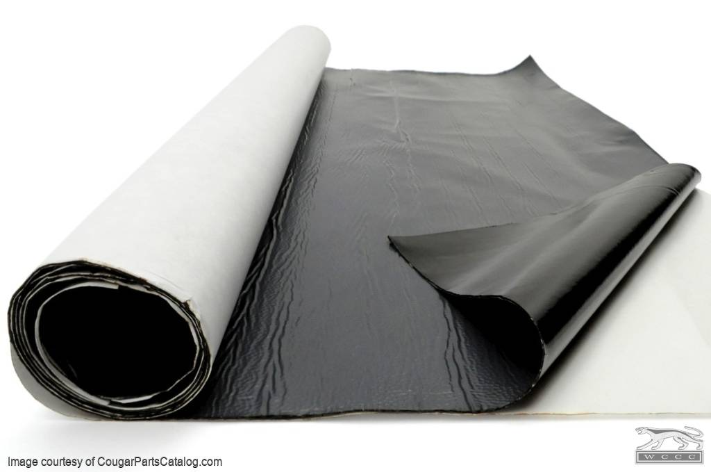 Automotive Mat - Sound Dampening - New ~ 1967 - 1973 Mercury Cougar / 1967 - 1973 Ford Mustang - 10937