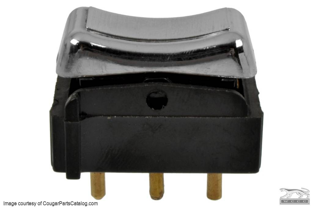 Master Switch - Power Window - Repro ~ 1970 - 1972 Mercury Cougar / 1970 - 1972 Ford Mustang / Torino - 11059