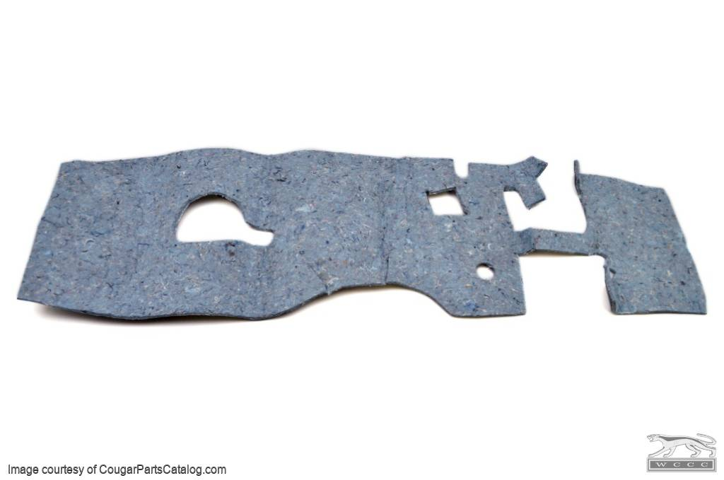 Firewall Insulation Pad - A/C - PREMIUM - Repro ~ 1967 - 1968 Mercury Cougar / 1967 - 1968 Ford Mustang  - 12862