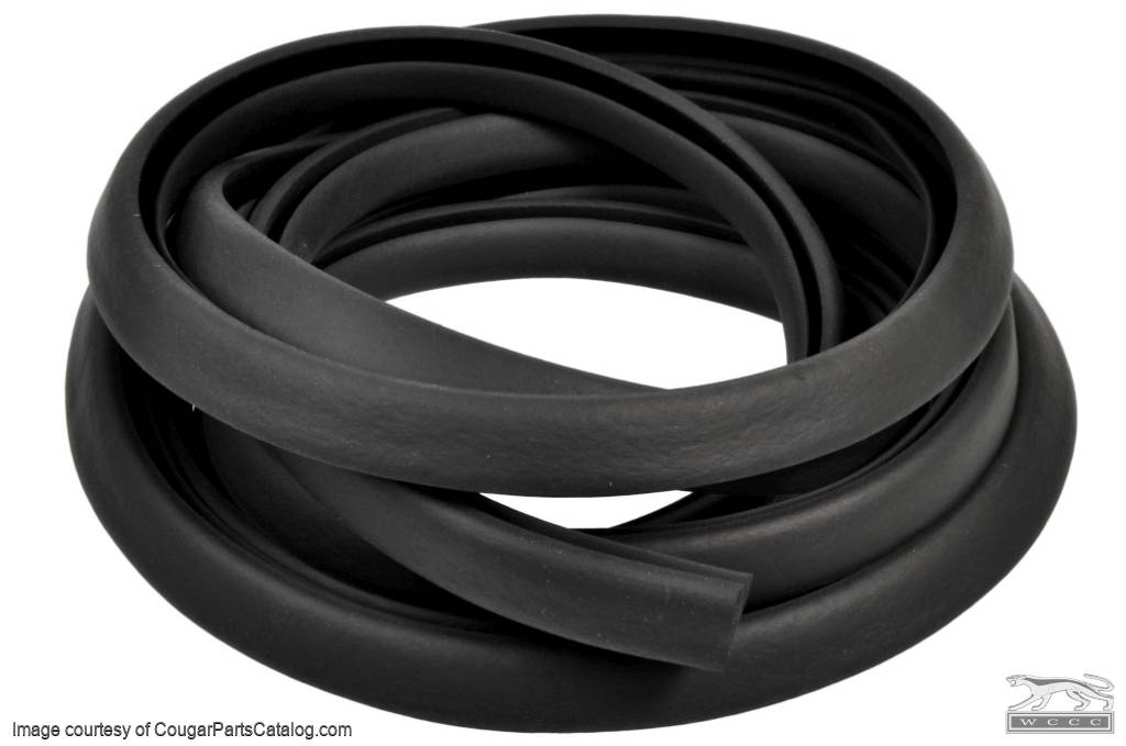 Weatherstrip Seal - Rear Deck / Trunk Lid - Repro ~ 1967 - 1970 Mercury Cougar / 1965 - 1970 Ford Mustang - 26221