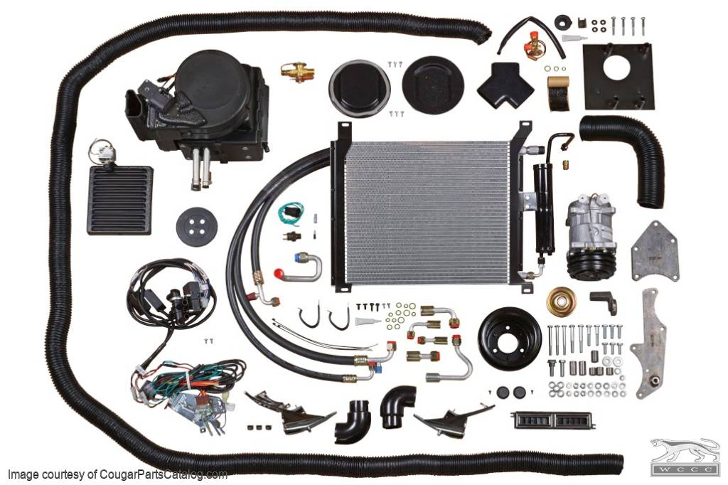 A/C System - Complete - Repro ~ 1967 - 1968 Mercury Cougar / 1967 - 1968 Ford Mustang - 10005