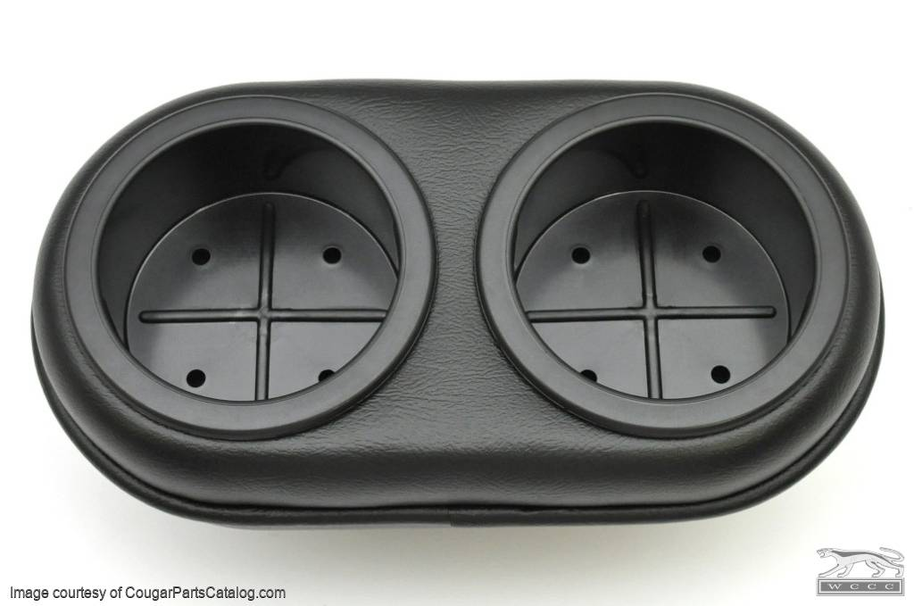 Plug-N-Chug Console - Ashtray Cup Holder Insert - New ~ 1969 Mercury Cougar - 1969 Ford Mustang - 26796