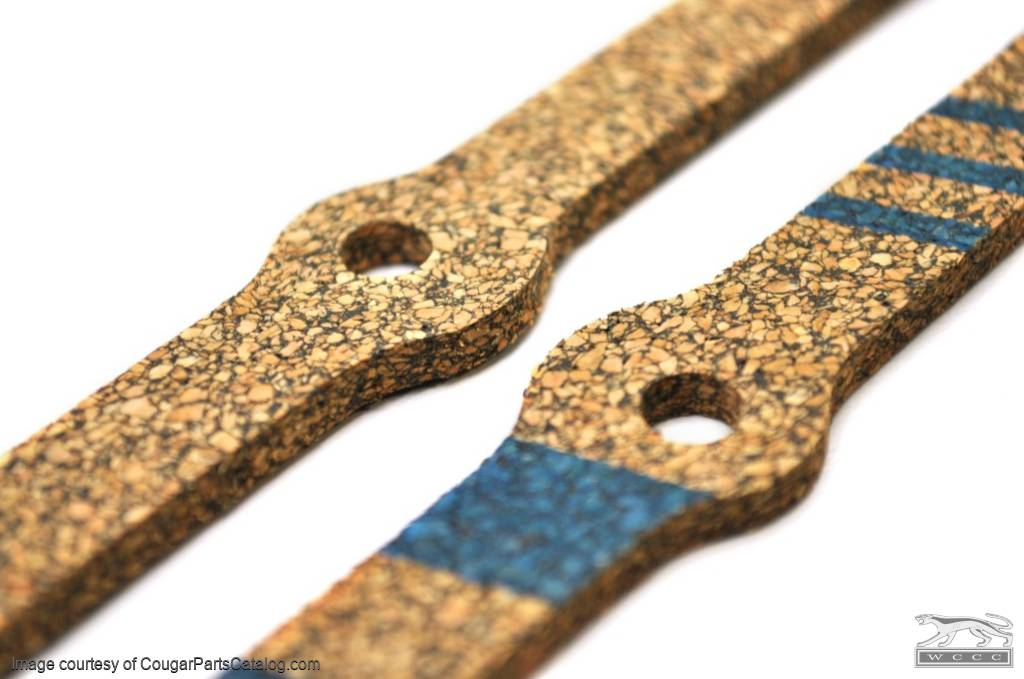 351C - Valve Cover Gasket - Cork - Repro ~ 1970 - 1973 Mercury Cougar - 1970 - 1973 Ford Mustang - 41616