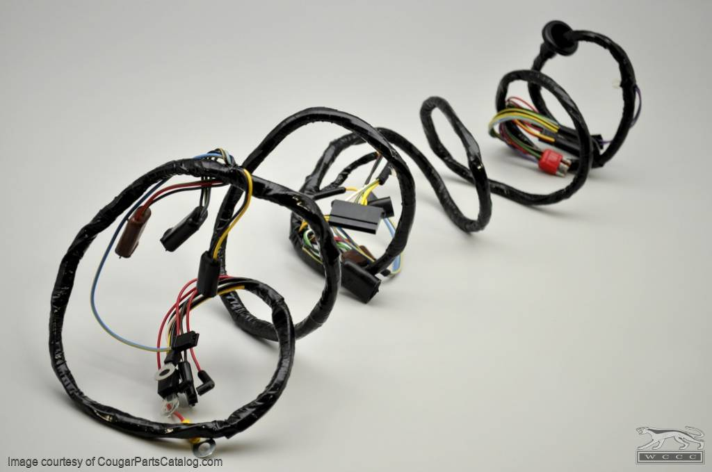 1001802_(4) 1028 under hood wiring harness xr7 repro ~ 1968 mercury cougar underhood wiring harness 1973 ford truck at bayanpartner.co