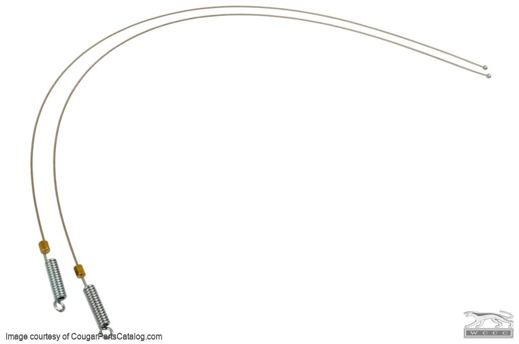 Tension Cables - Convertible Top - Repro ~ 1969 - 1970 Mercury Cougar / 1969 - 1970 Ford Mustang - 42015