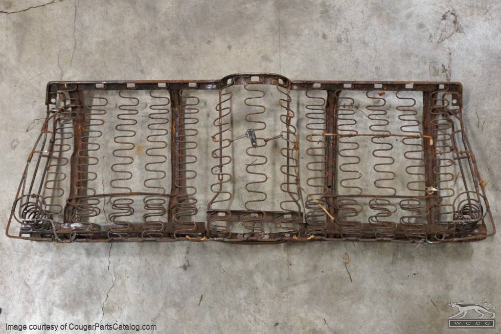 Rear Seat Lower Frame Assembly Convertible Used