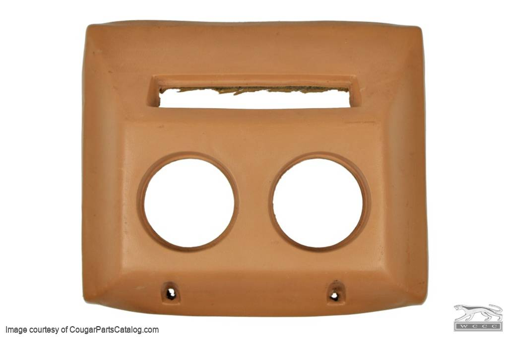 Pad - Overhead Console XR7 - Grade A - Used ~ 1967 - 1968 Mercury Cougar - 16764