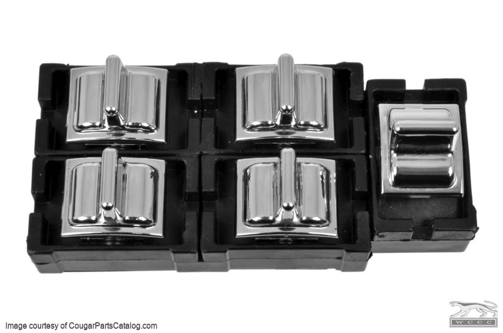 Master Switch - Power Window - NOS ~ 1973 Mercury Cougar / 1973 Ford Mustang - 10048