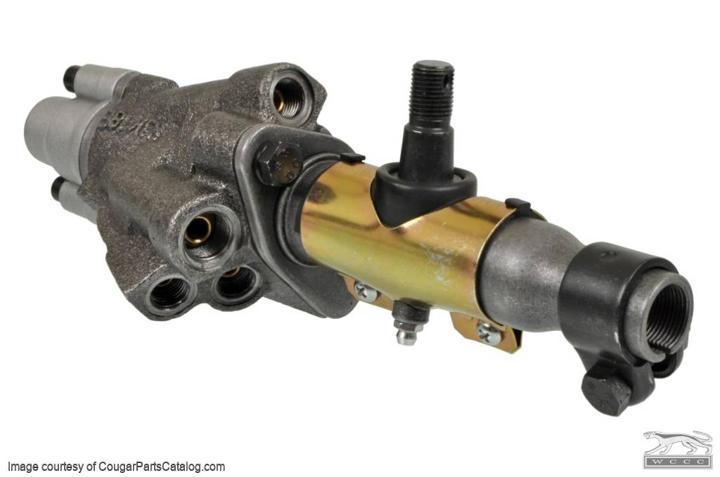 Control Valve - Power Steering - Large Nut 5/16 - Repro ~ 1968 - 1970 Mercury Cougar / 1968 - 1970 Ford Mustang - 10105