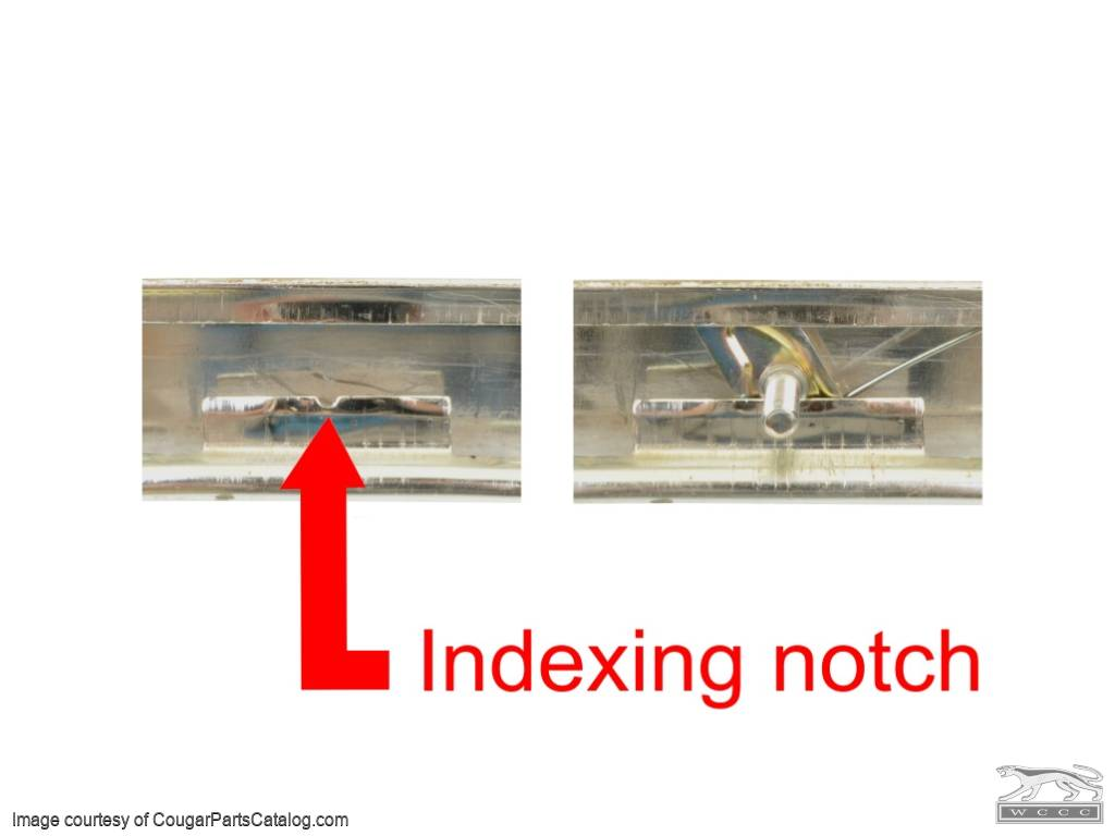 Clip - Moulding / Trim - Hood Lip - EACH - Repro ~ 1969 Mercury Cougar - 10132
