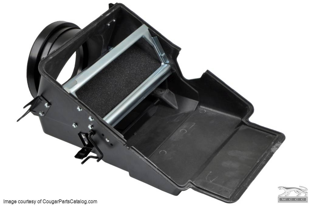Heater Box - With A/C - Repro ~ 1971 - 1973 Mercury Cougar / 1971 - 1973 Ford Mustang - 10253