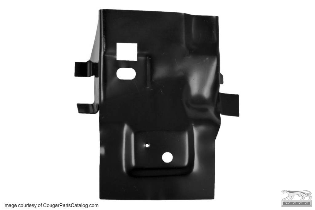 Rear Apron Extension - Driver Side - Repro ~ 1969 - 1970 Mercury Cougar / 1969 - 1970 Ford Mustang - 10661