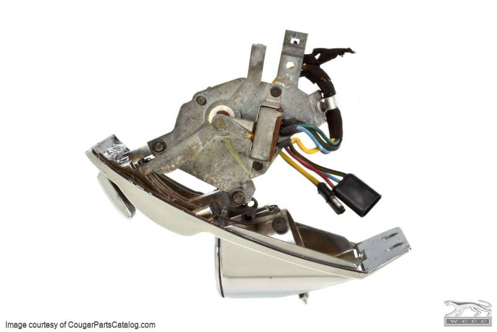 Air Conditioning Control Assembly - A Grade - Used ~ 1968 Mercury Cougar - 11-0007