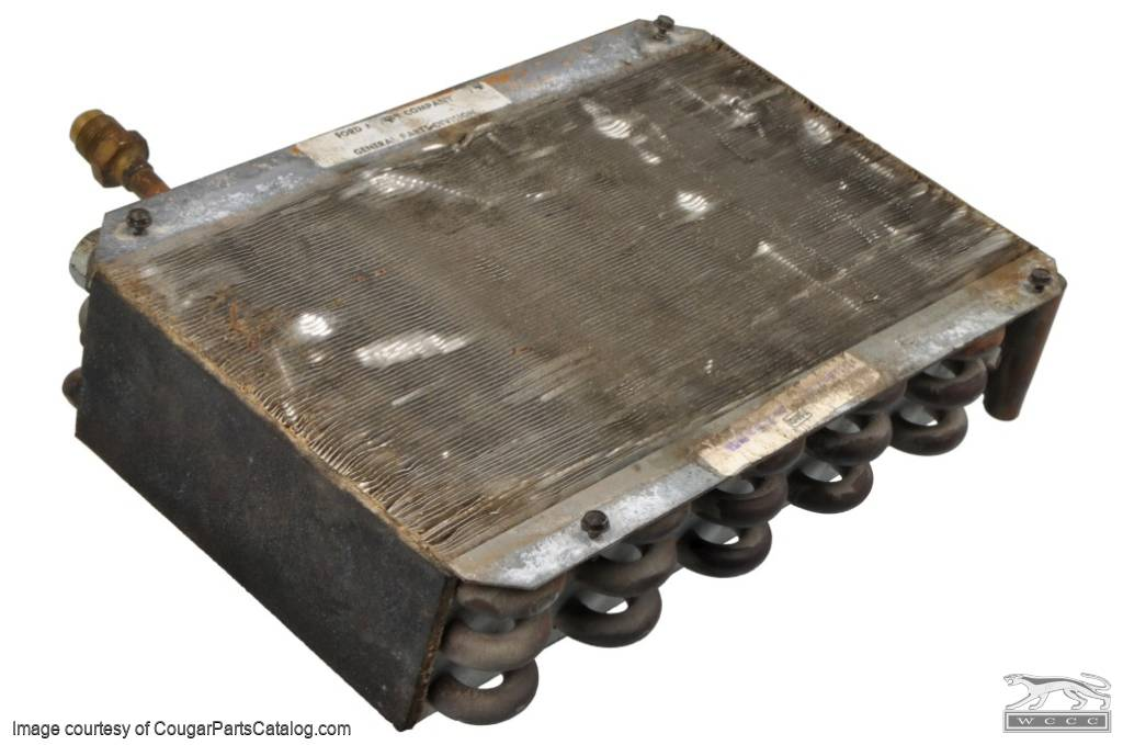 A/C Evaporator - Used ~ 1967 - 1968 Mercury Cougar / 1967 - 1968 Ford Mustang - 11-0013
