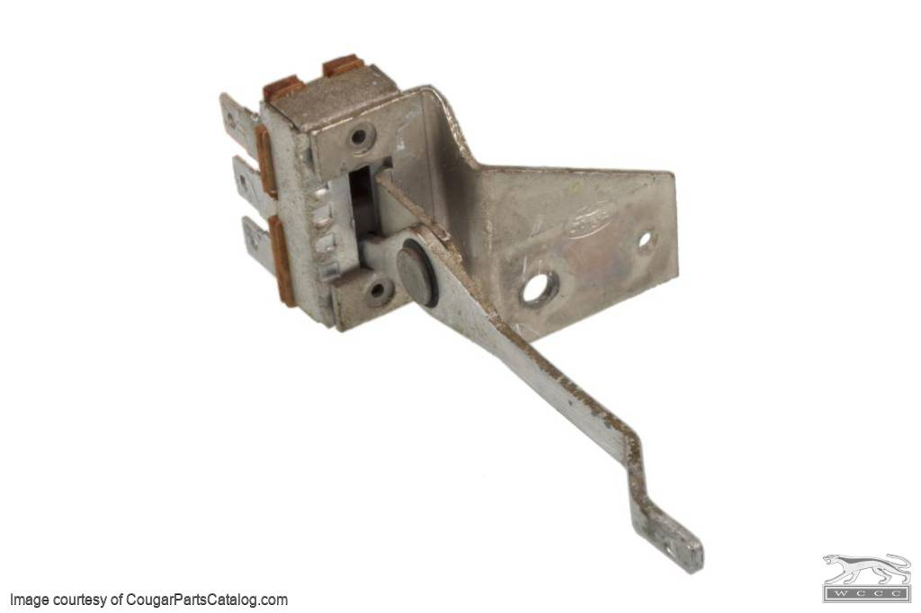 Switch - A/C Fan - Used ~ 1971 - 1973 Mercury Cougar / 1971 - 1973 Ford Mustang - 11-0045