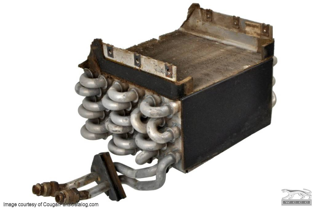A/C Evaporator - Used ~ 1971 - 1973 Mercury Cougar / 1971 - 1973 Ford Mustang - 11-0065