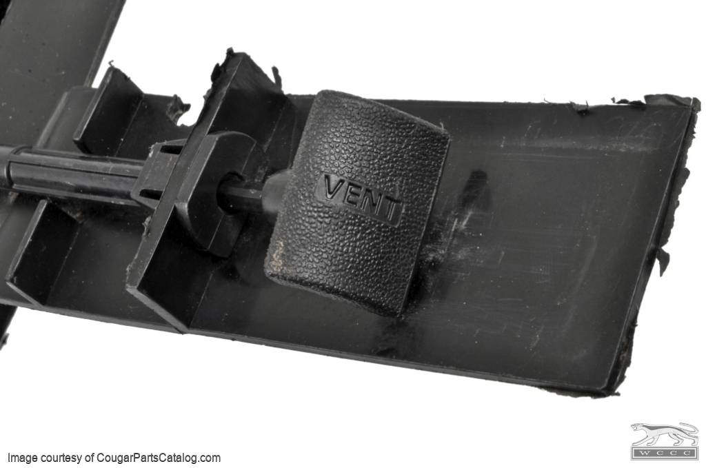 Fresh Air Vent - Passenger Side - Used ~ 1969 - 1970 Mercury Cougar / 1969 - 1970 Ford Mustang - 11-0067