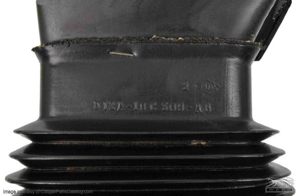 Duct - Fresh Air Vent to Dash - Passenger Side - Used ~ 1971 - 1973 Mercury Cougar / 1971 - 1973 Ford Mustang - 11-0070