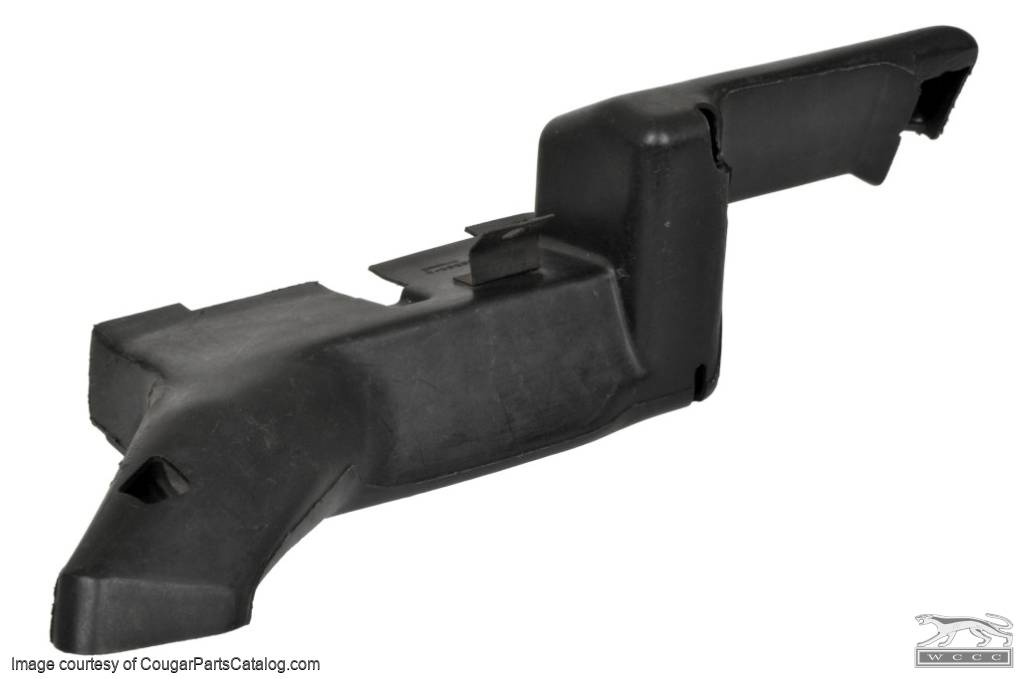 Duct - Heater Outlet to Floor - with A/C - Grade A - Used ~ 1969 - 1970 Mercury Cougar / 1969 - 1970 Ford Mustang - 11-0106