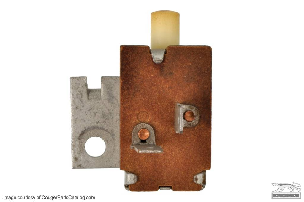 Switch - A/C Compressor Clutch Control - Used ~ 1967 - 1968 Mercury Cougar / Ford Mustang - 11-0108