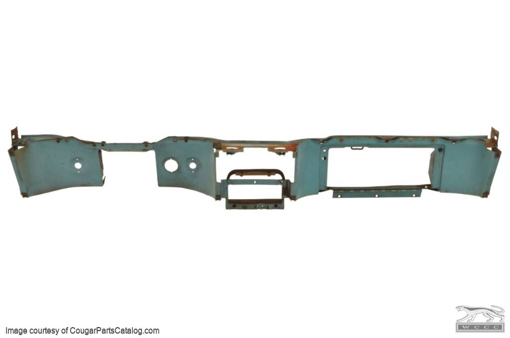 Dash Panel Without A C Used For 1969 Mercury Cougar 1969 Ford Mustang At West Coast Classic Cougar The Definitive 1967 1973 Mercury Cougar Parts Source
