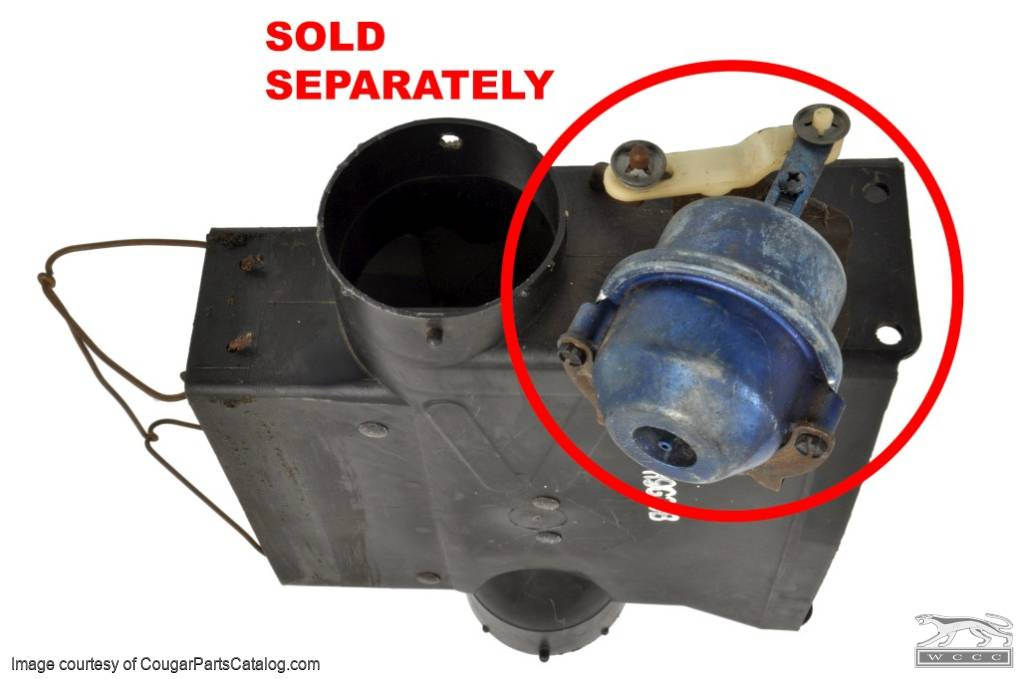 Chamber Assembly - A/C - Used ~ 1969 - 1970 Mercury Cougar / 1969 - 1970 Ford Mustang - 11-0132
