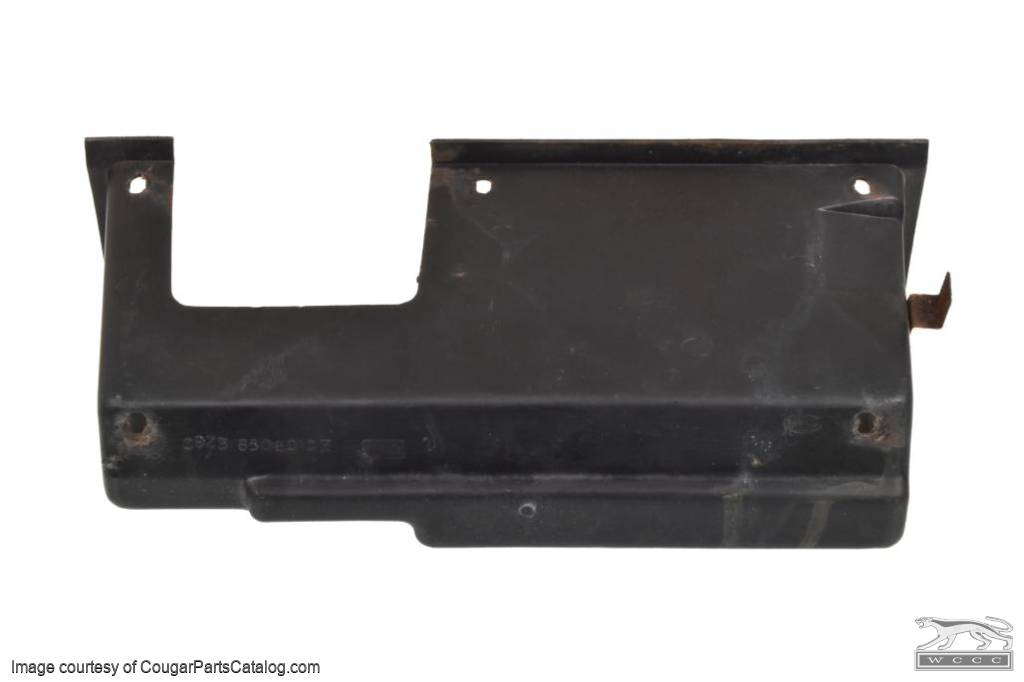 Glove Box Liner - w/ A/C - Used ~ 1969 - 1970 Mercury Cougar / 1969 - 1970 Ford Mustang - 11-0134