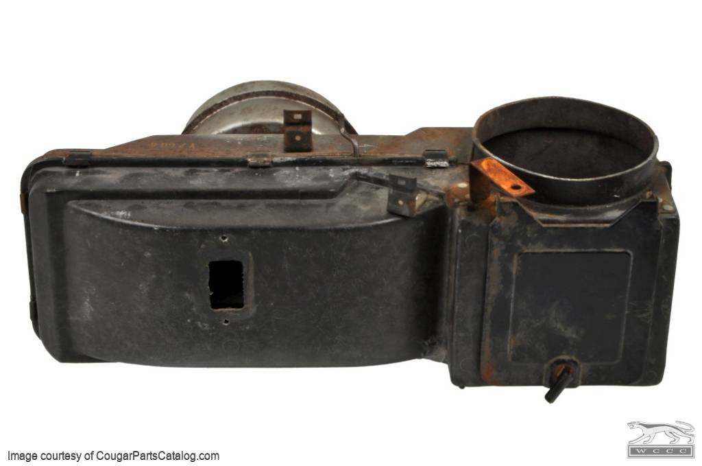 Heater Box Assembly - Non A/C - Used ~ 1967 - 1968 Mercury Cougar / 1965 - 1968 Ford Mustang - 11-0139