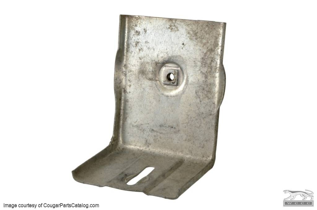 Bracket - Lower - Quarter Window - Used ~ 1969 - 1970 Mercury Cougar / 1969 - 1970 Ford Mustang - 11-0140