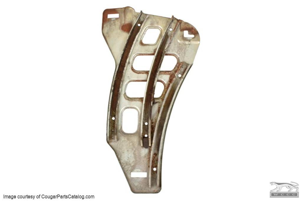 Quarter Window Guide - Driver Side - Used ~ 1971 - 1973 Mercury Cougar / 1971 - 1973 Ford Mustang - 11-0380