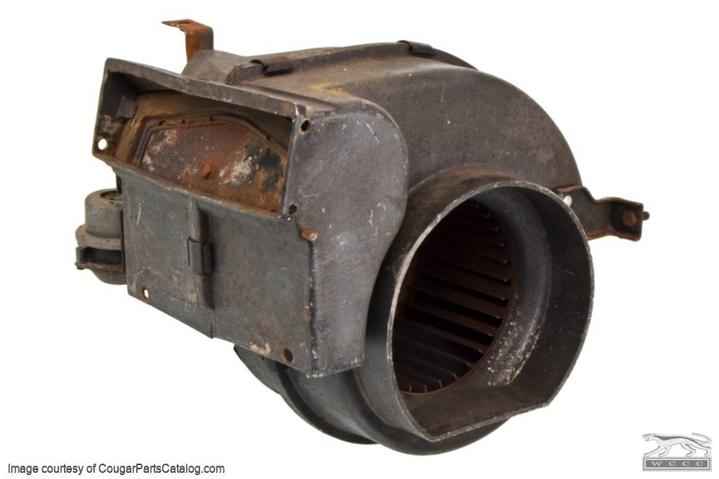 A/C Blower Housing Assembly - Used ~ 1967 - 1968 Mercury Cougar / 1967 - 1968 Ford Mustang - 11-0385
