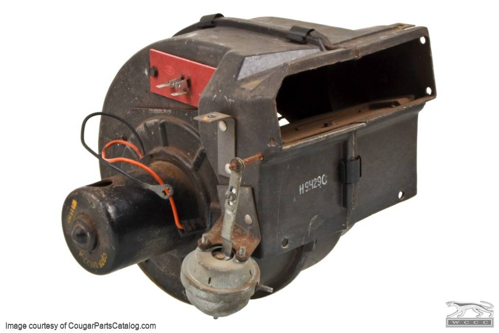 A/C Blower Housing Assembly - Used ~ 1969 - 1970 Mercury Cougar / 1969 - 1970 Ford Mustang - 11-0386