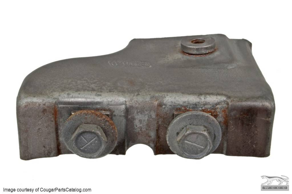 Extension Assembly - Quarter Window - Passenger Side - Used ~ 1969 - 1970 Mercury Cougar / 1969 - 1970 Ford Mustang - 11-0391