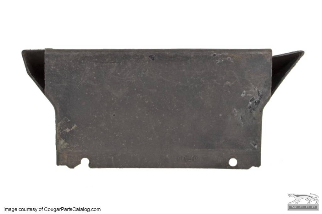 A/C Floor Duct - w/ Console - Grade B - Used ~ 1967 - 1968 Mercury Cougar / 1967 - 1968 Ford Mustang - 11-0406