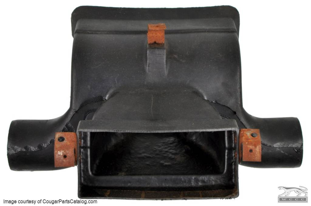 A/C Duct and Connecting Assy - Used ~ 1971 - 1973 Mercury Cougar / 1971 - 1973 Ford Mustang - 11-0087