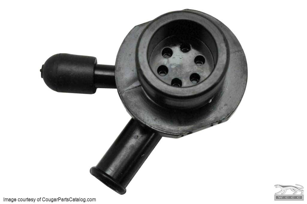 Check Valve - Power Brake Booster - Midland - Repro ~ 1967 - 1968 Mercury Cougar / 1967 - 1968 Ford Mustang - 11646