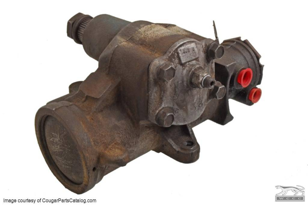 Power Steering Gear Box - CONSTANT - Used ~ 1971 - 1973 Mercury Cougar / 1971 - 1973 Ford Mustang - 11860