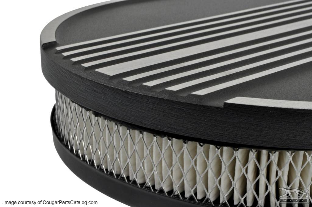Air Cleaner - Oval - Walking Cat - Repro ~ 1967 - 1973 Mercury Cougar - 11975