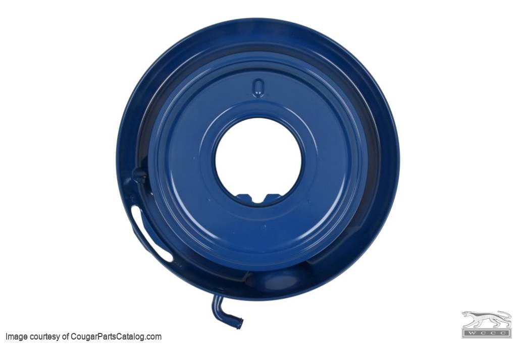Air cleaner Base - 428 Ram Air - Repro ~ 1968 - 1970 Mercury Cougar / 1968 Ford Torino / 1968 Ford Mustang - 12136