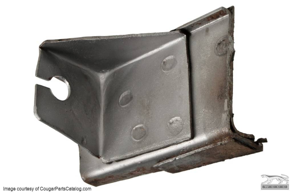 Cable Anchor - Emergency Brake - Front - Used ~ 1967 - 1968 Mercury Cougar / 1967 - 1968 Ford Mustang - 12200