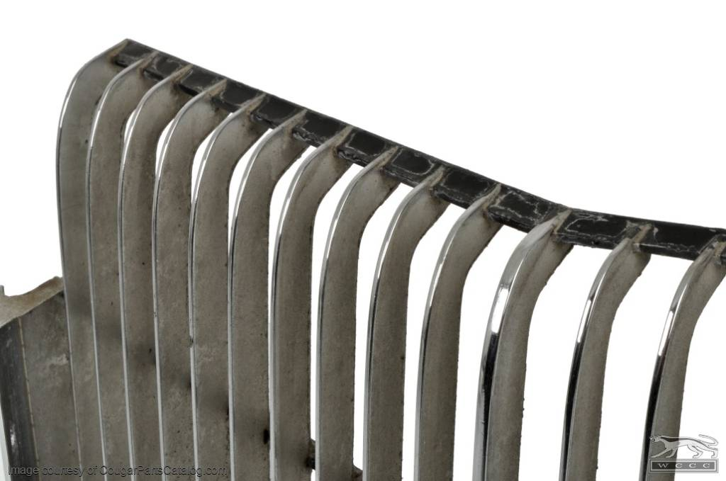Grille - Center - Grade A - Used ~ 1973 Mercury Cougar - 12429